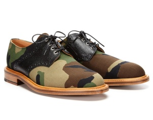 Woodland Camo Derby Lace-Up Shoes by Mark McNairy (freshnessmag.com)