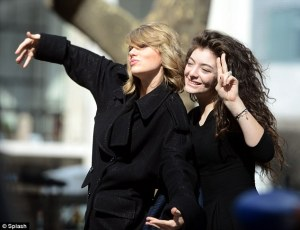 Taylor Swift and Lorde.