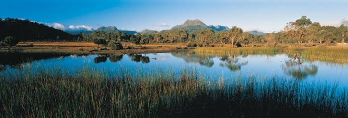 Cradle Mountain National Park, in Tasmania.