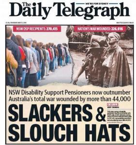 The Daily Telegraph propoganda