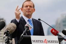 Tony Abbott's D-Day Address