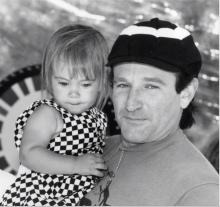 Robin William's last post on Instagram,  with daughter Zelda.