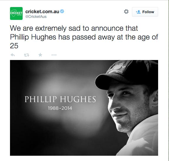 Philip Hughes death