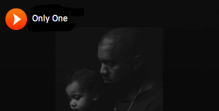 kanye west single only one